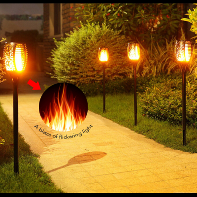 Solar Flame light for garden